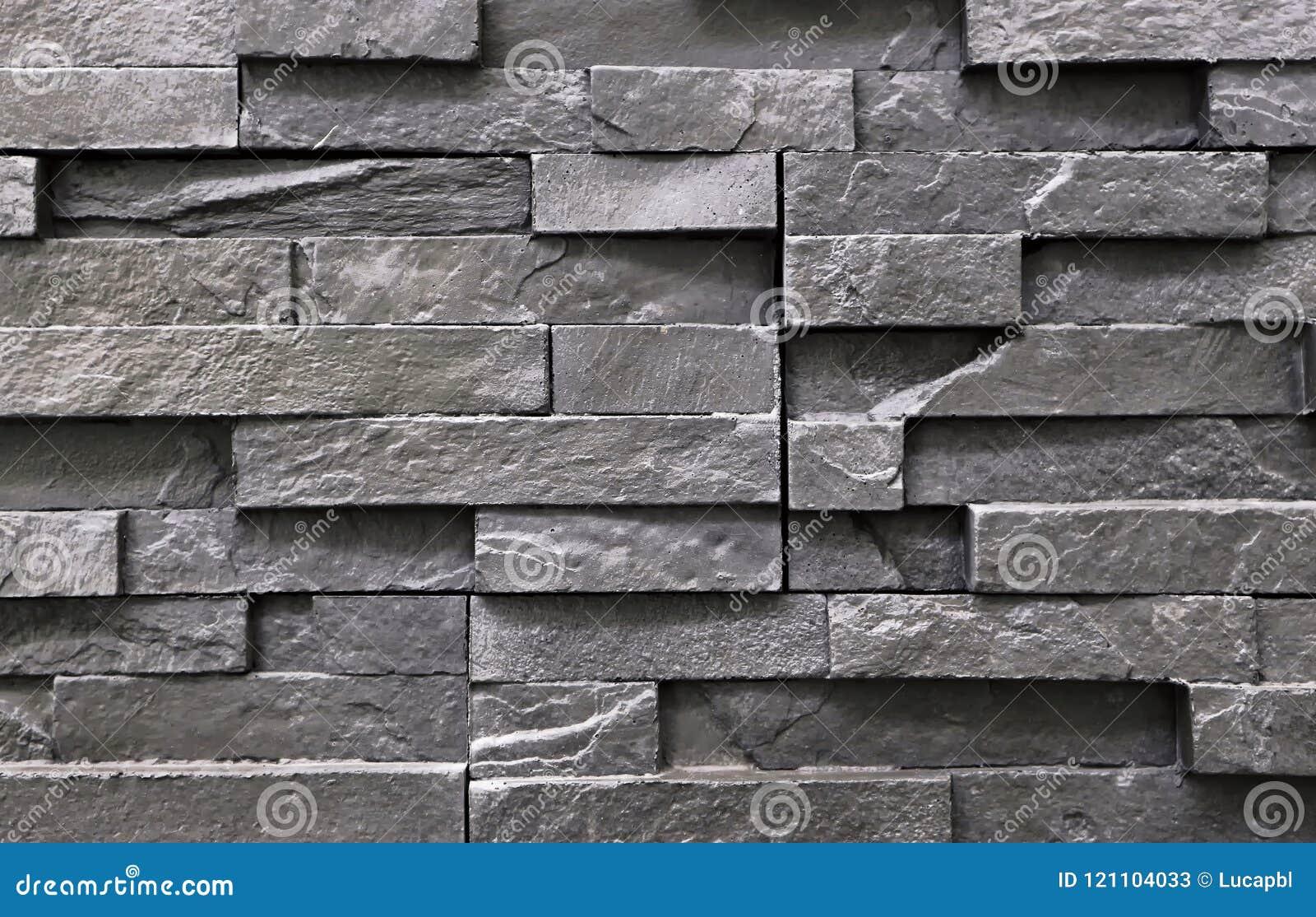 Pietra Da Interni Grigia : Rivestimento grigio scuro della parete per gli interni o i cortili