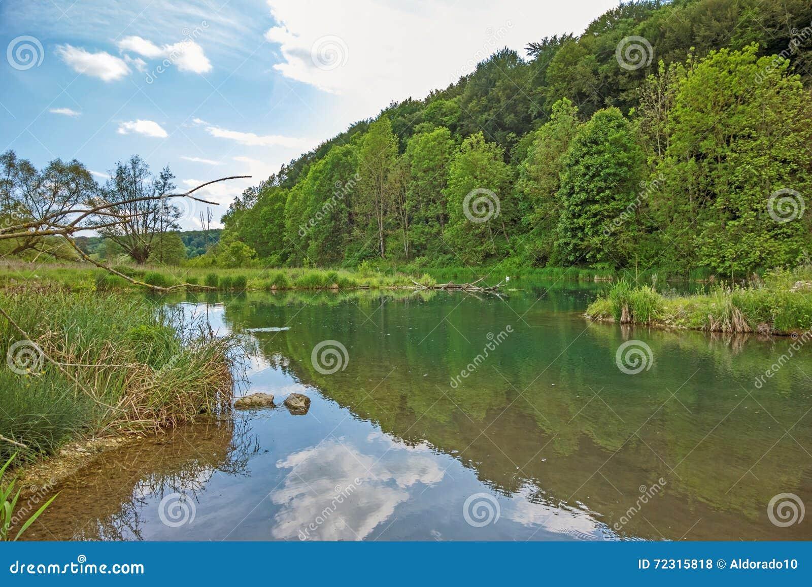 Rivière Brenz - vallée Eselsburger Tal