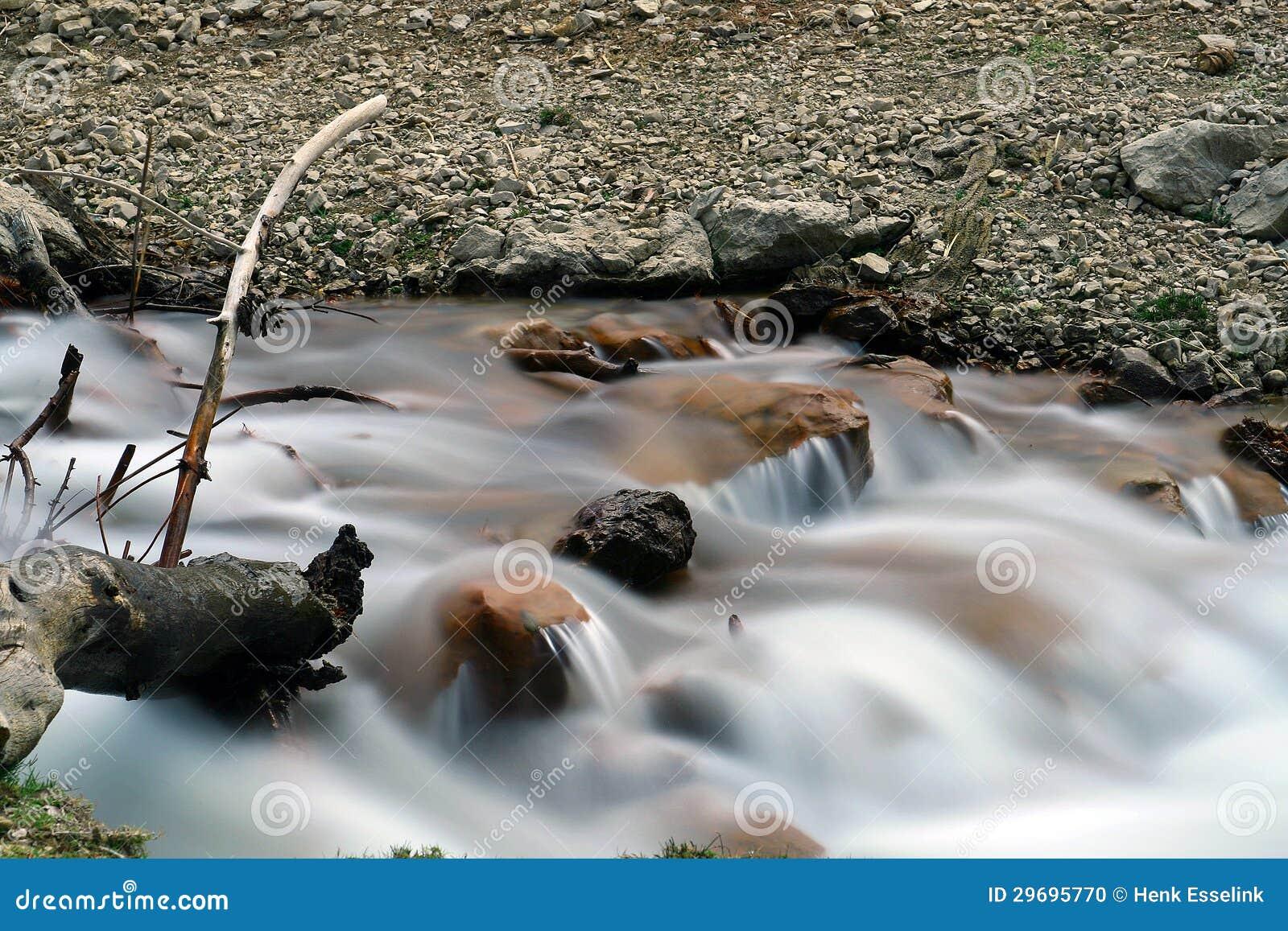 Rivière débordante
