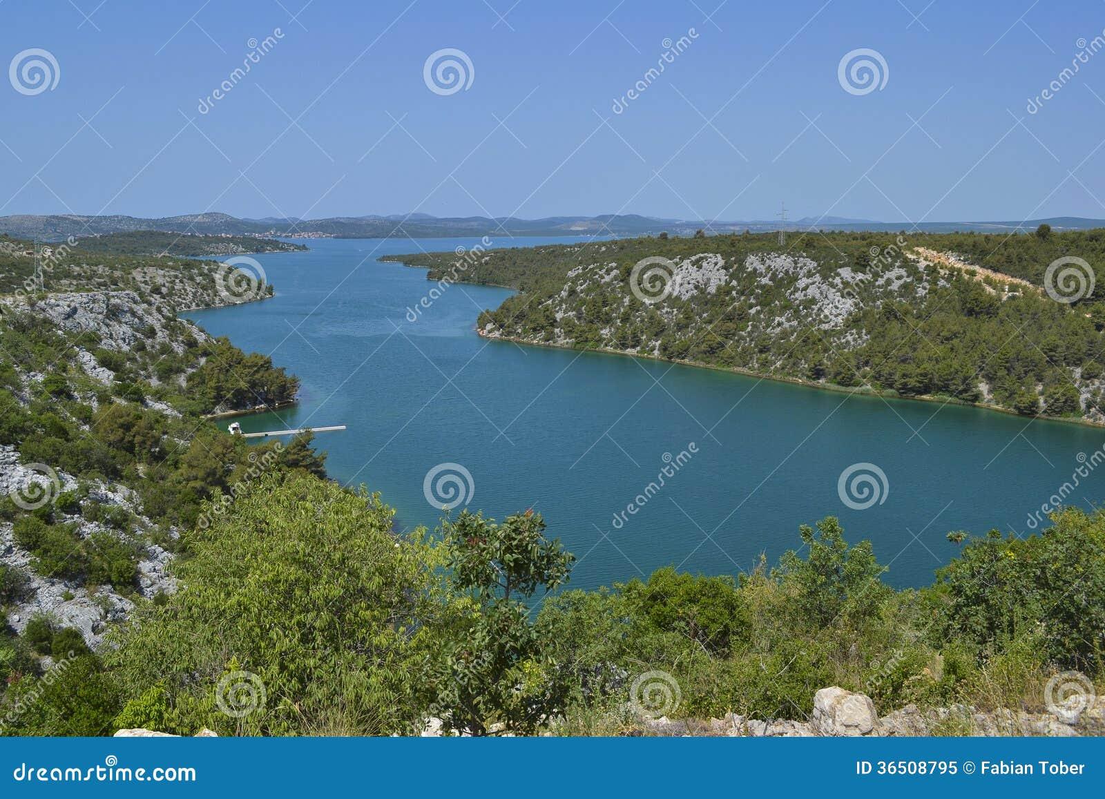 Rivière de Krka