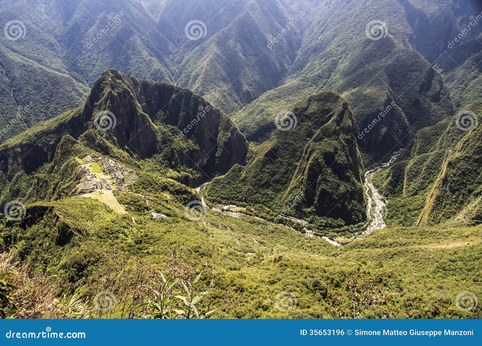 Rivière de Machu Picchu et d Urubamba, Pérou