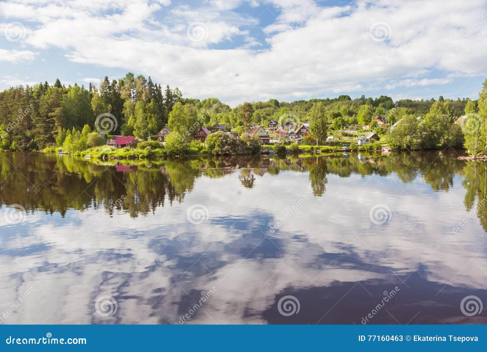 Rivière de Svir La Carélie Russie