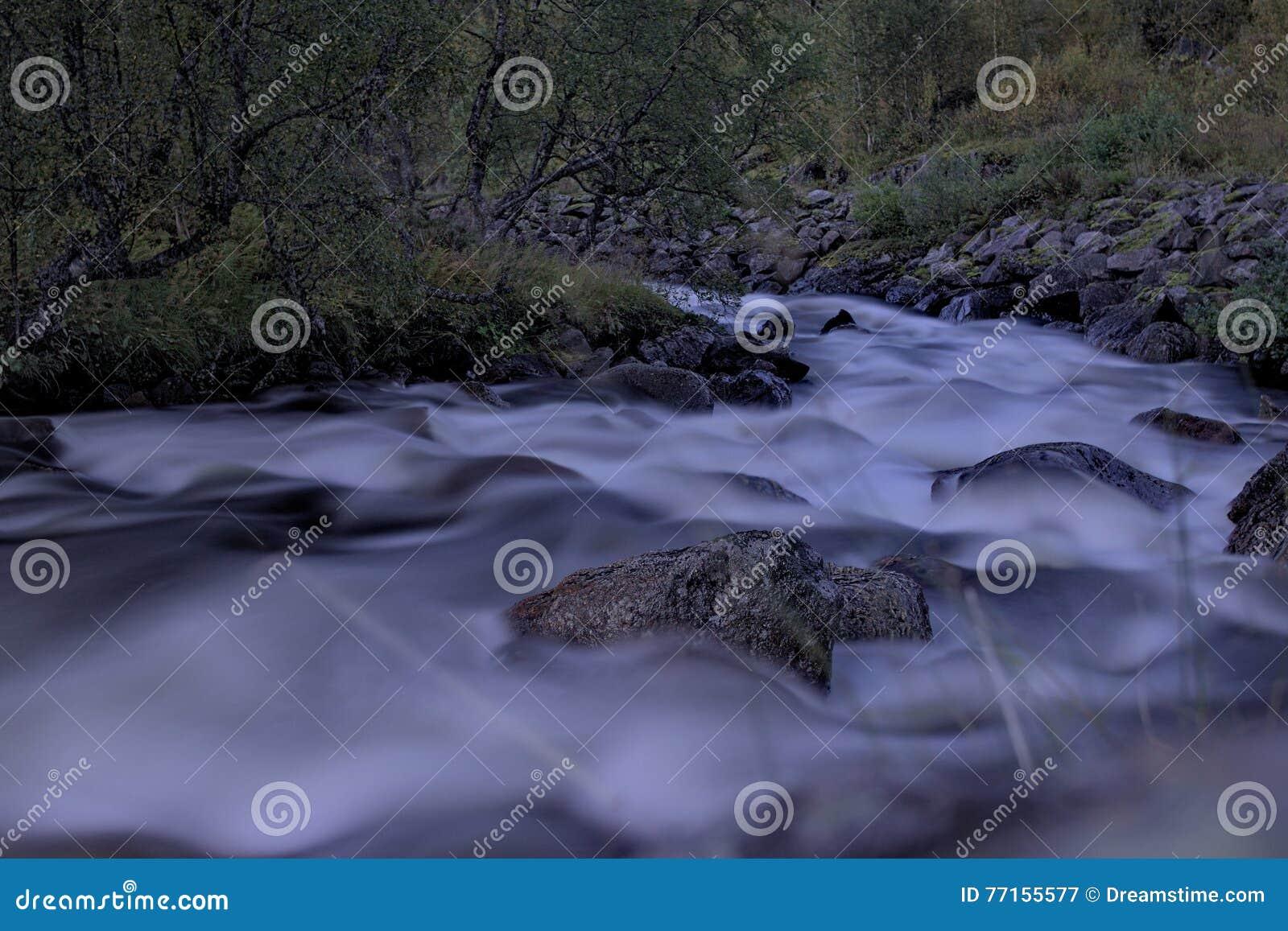 Rivière en montagnes