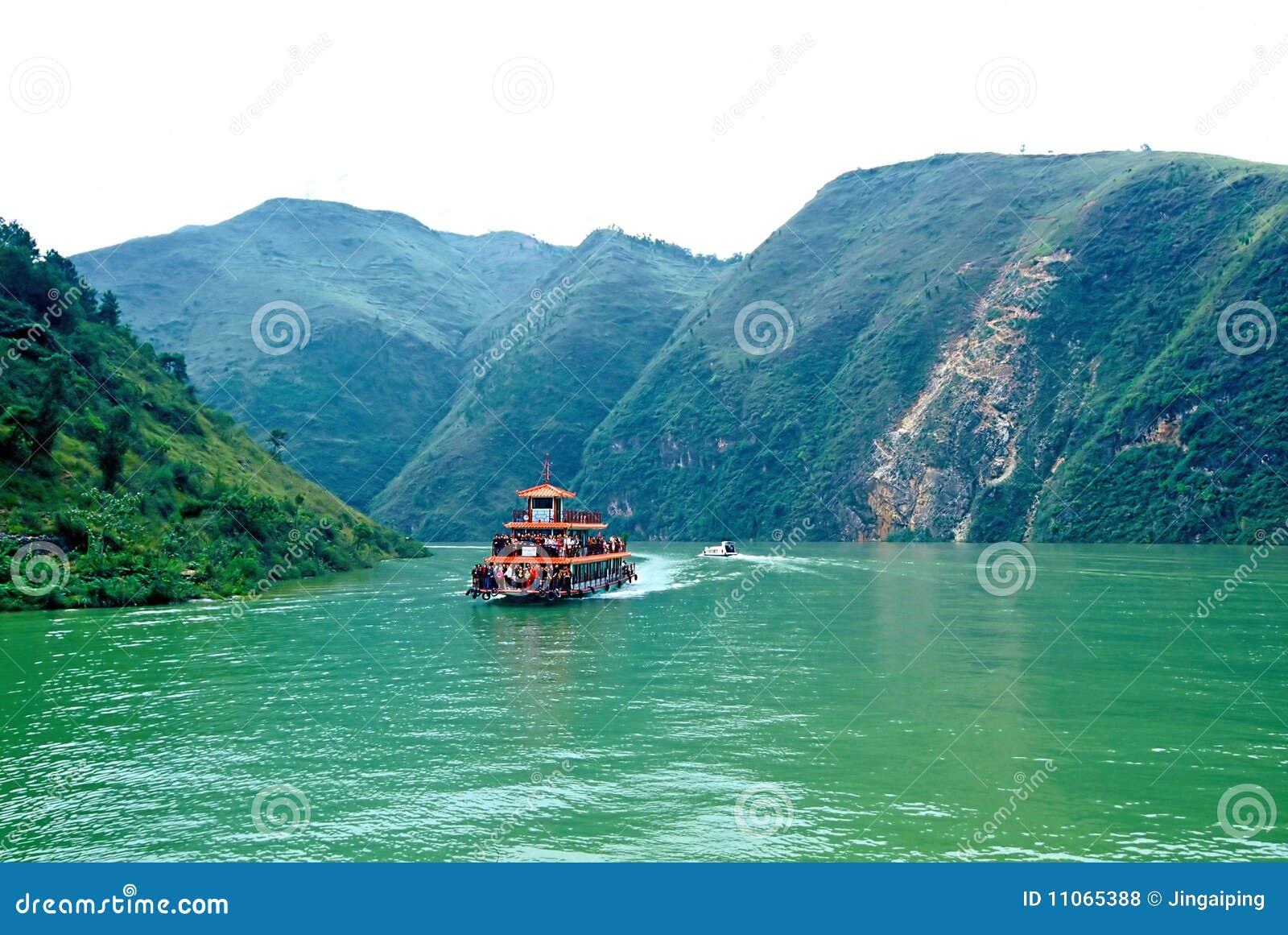 Rivier Drie van Yangtze Kloven - Kleine Drie Kloven