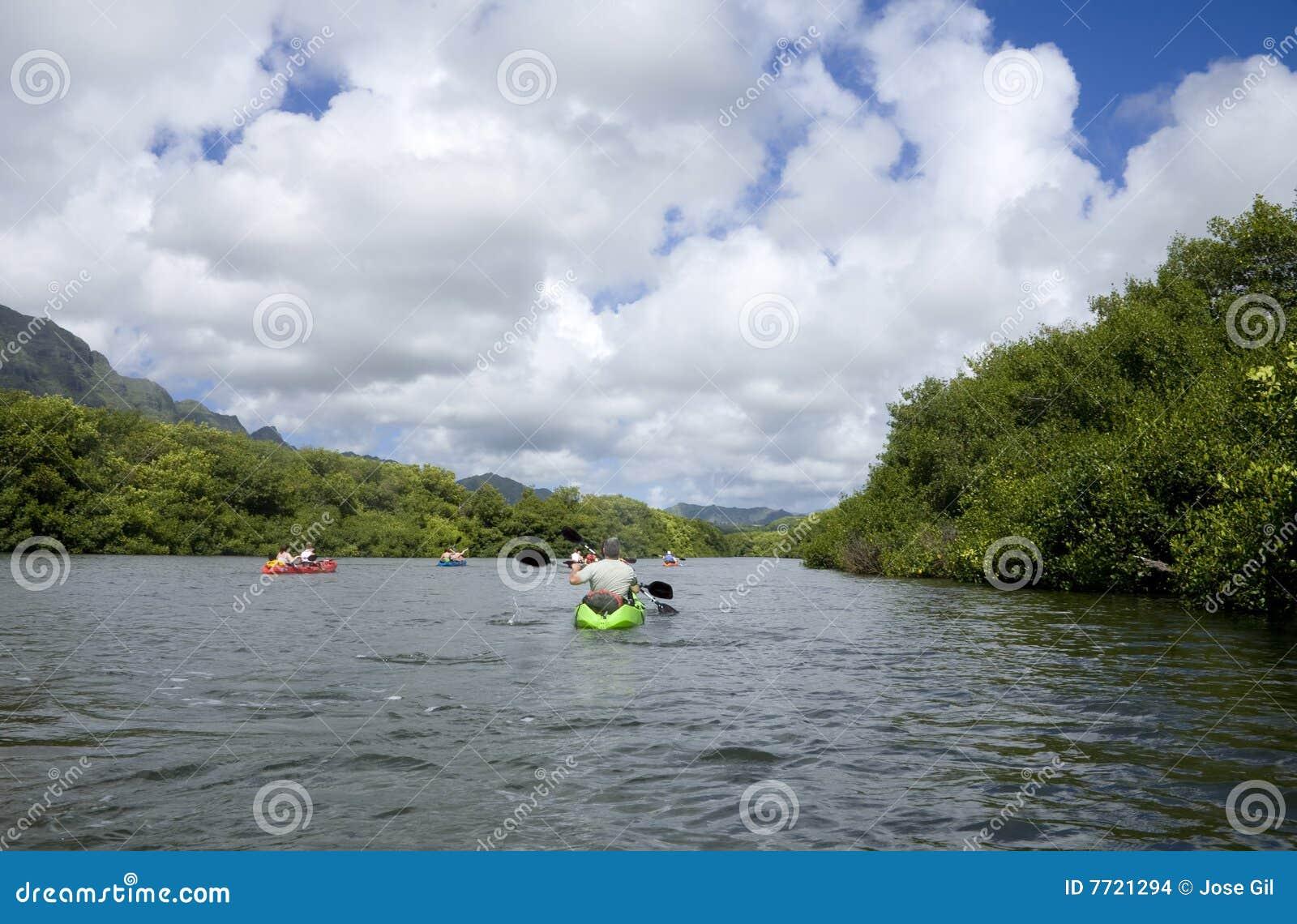 Rivier Kayakers