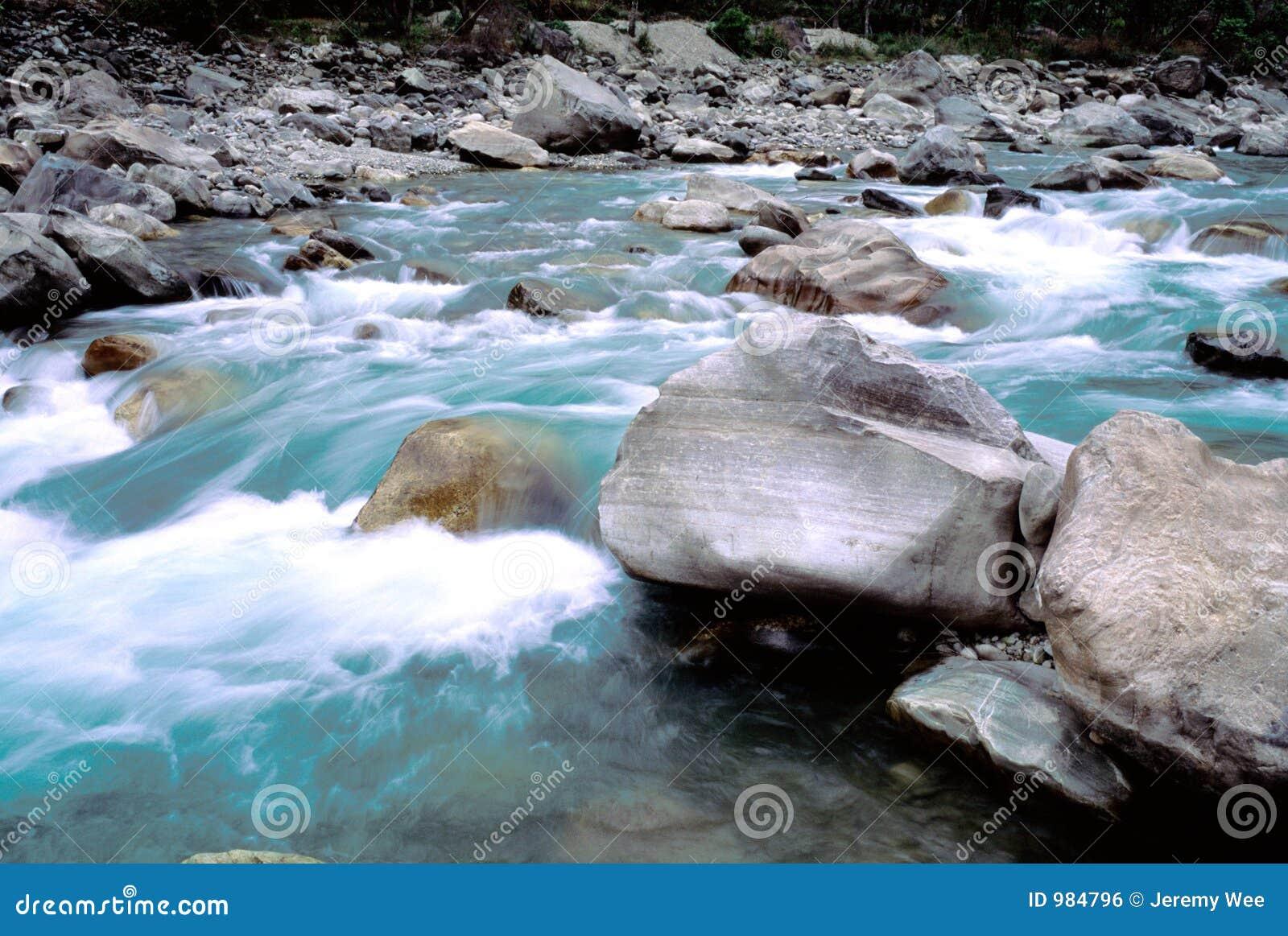 Rivier in Nepal