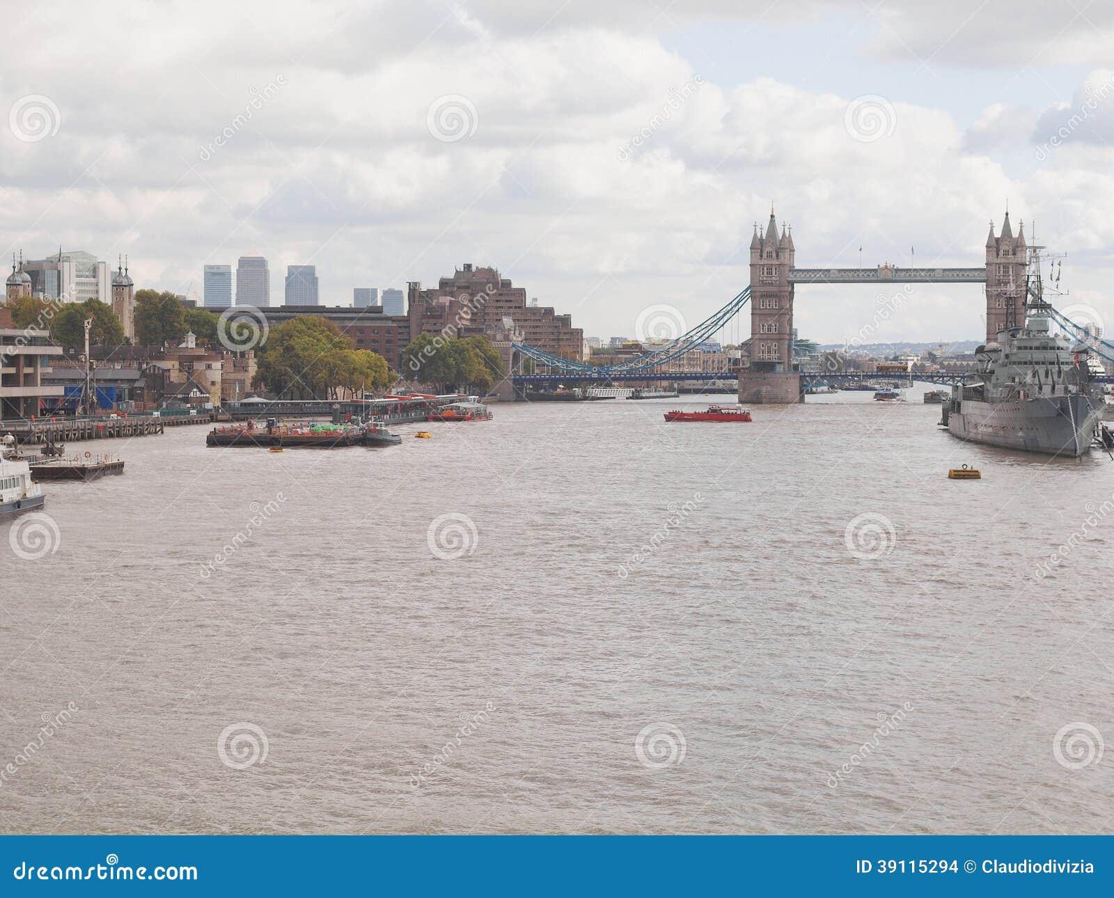 Rivier Theems in Londen