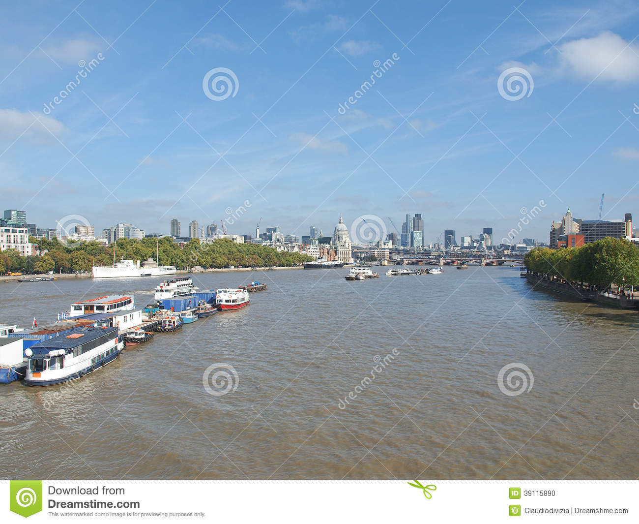 Rivier Theems in Londen