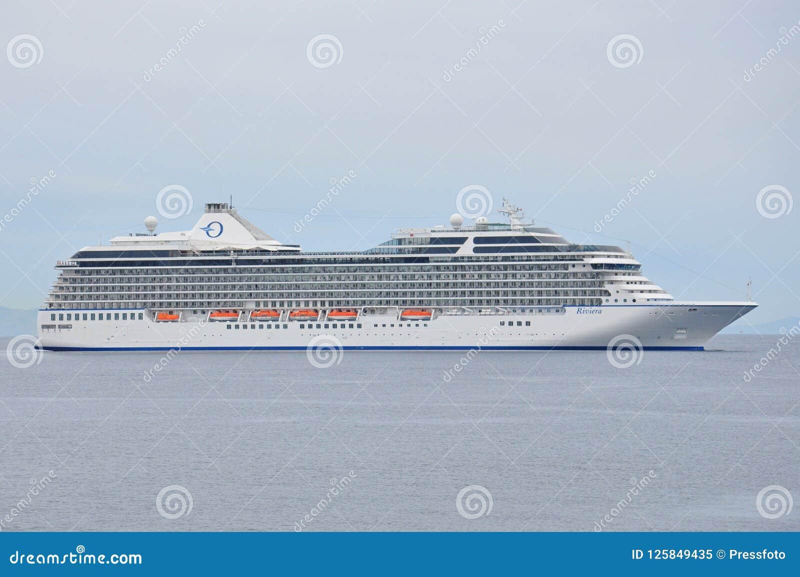 Riviera Cruise Ship, Oceania Cruises Editorial Image - Image