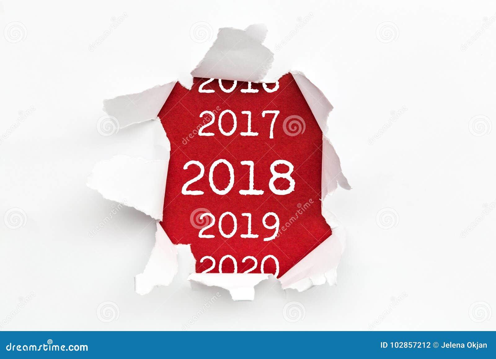 Rivit sönder papper 2018