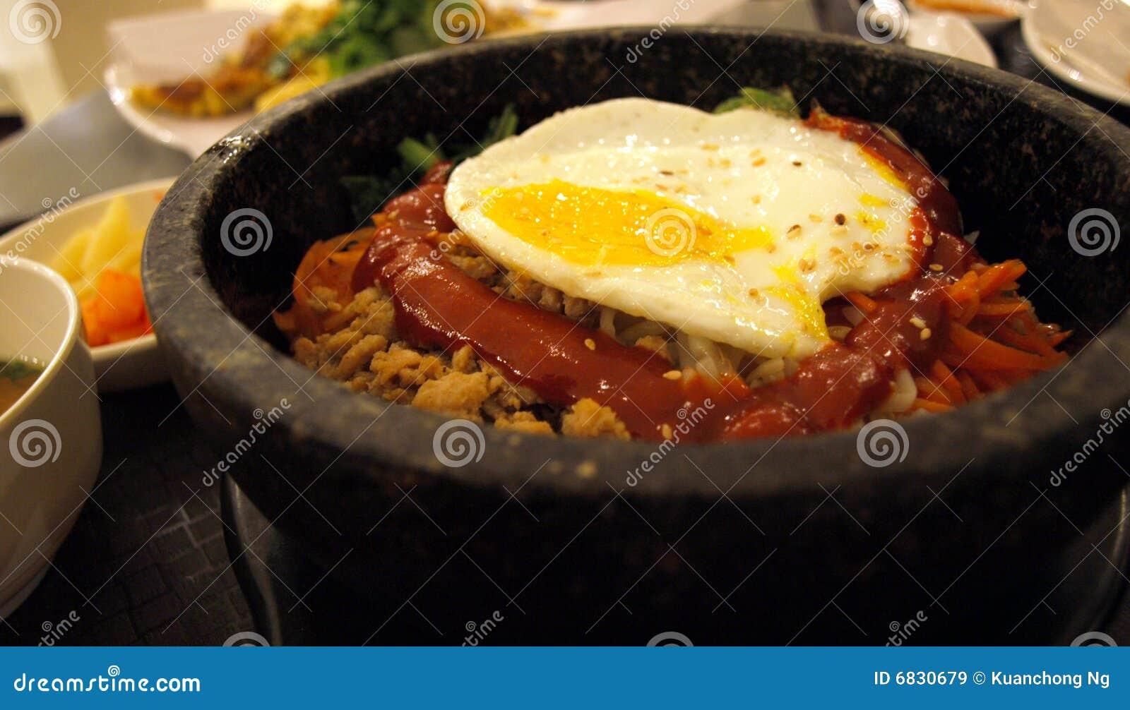 Riz coréen - Bap de Bibim