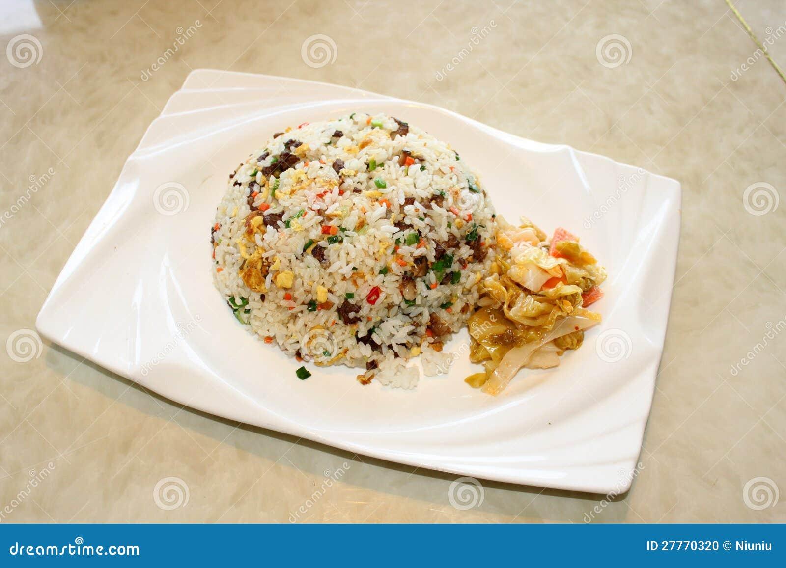 Riz frit de Yangzhou