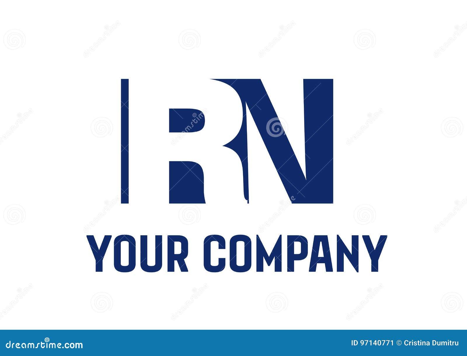 Rn letter logo design vector stock vector illustration of template download comp altavistaventures Images