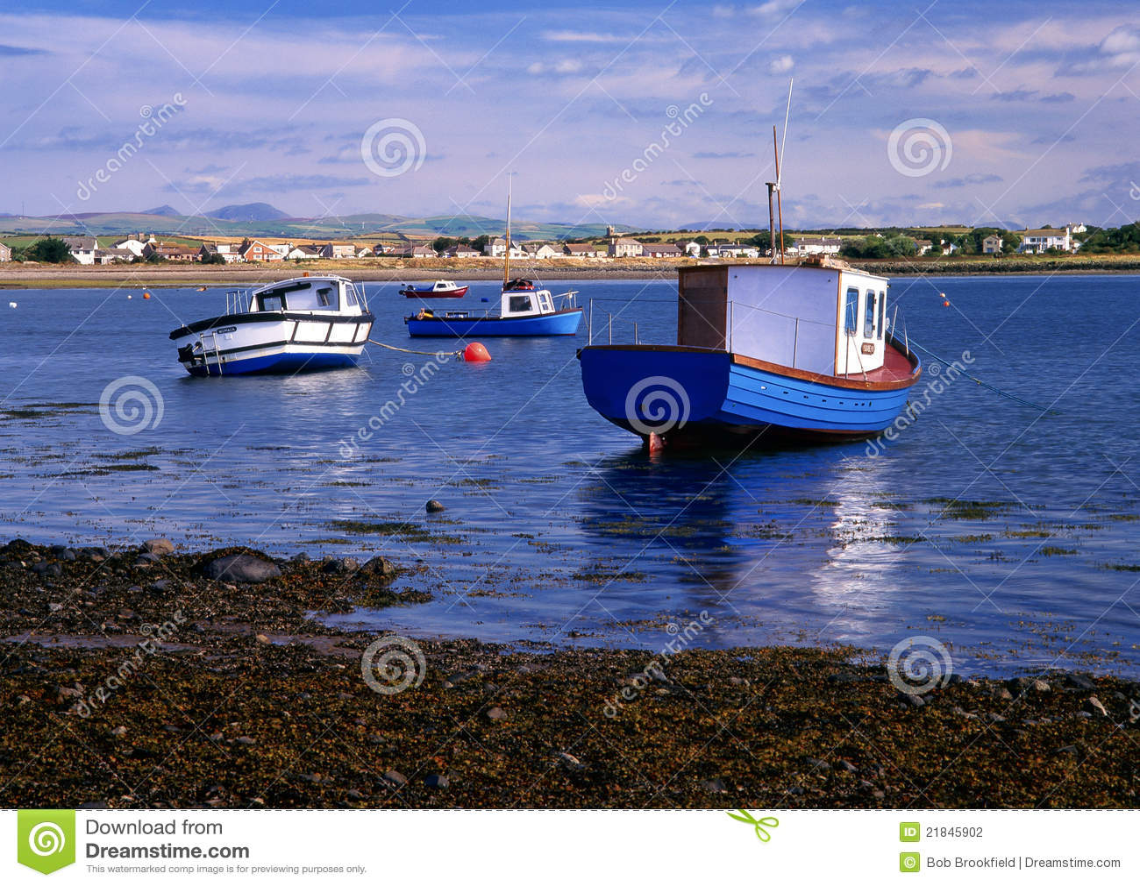 Roa Island, Cumbria, England Stock Photography