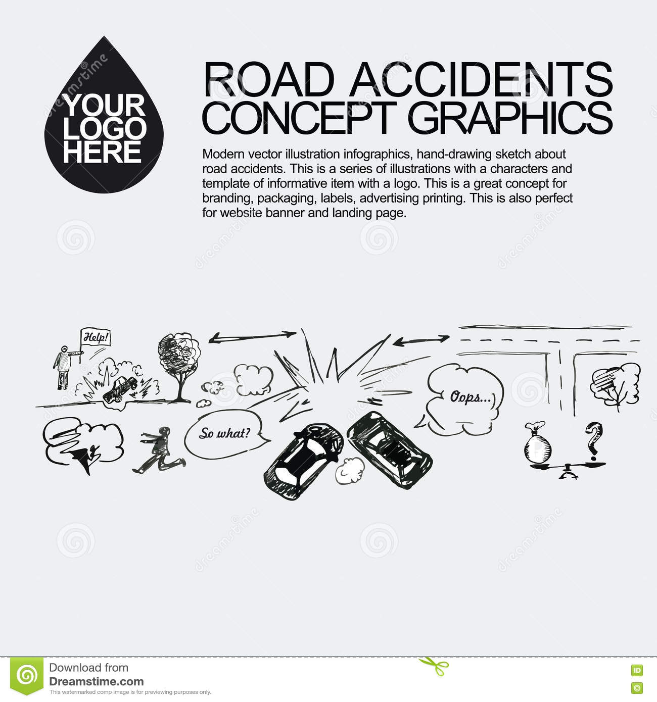 Car Accident Sketch Stock Photos - Download 7 Images