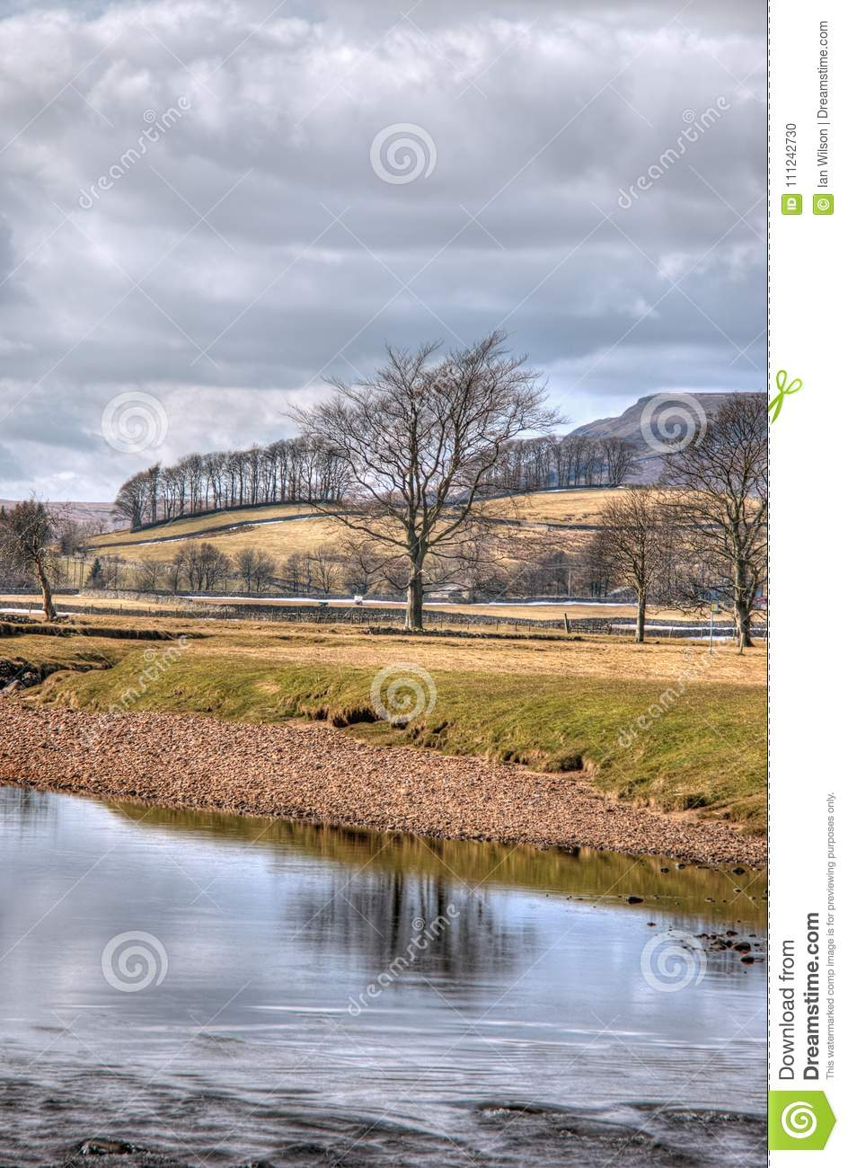 Near Hawes village in the Yorkshire Dales - winter