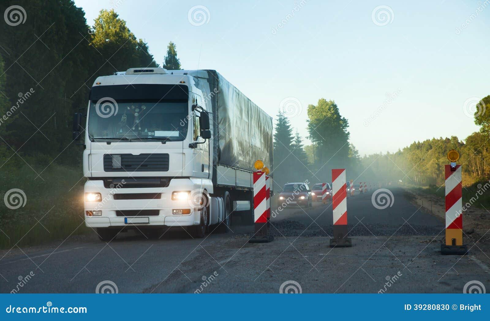 Road Construction, traffic