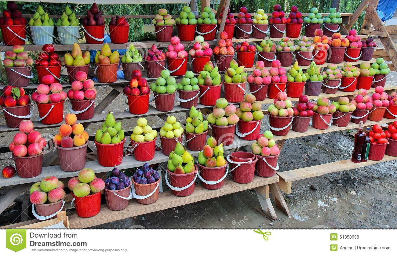 Road fruits market azerbaijan editorial stock photo for Azeri cuisine caledonian road