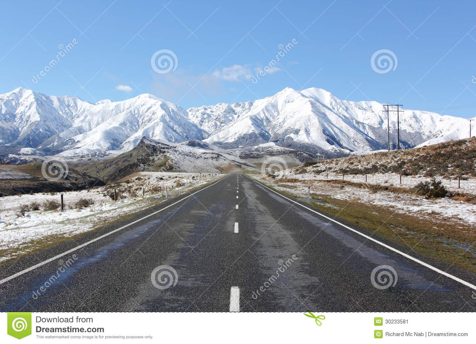 towards the snowy - photo #29