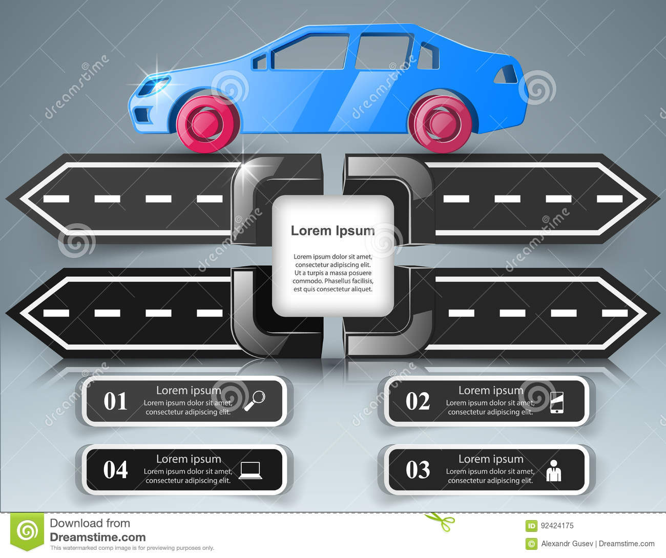 road infographic design template and marketing icons car icon rh dreamstime com