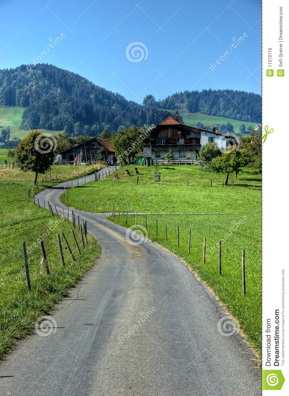 Home Time Road Roblox Id: Road Leading To A House Stock Photo. Image Of Cabin