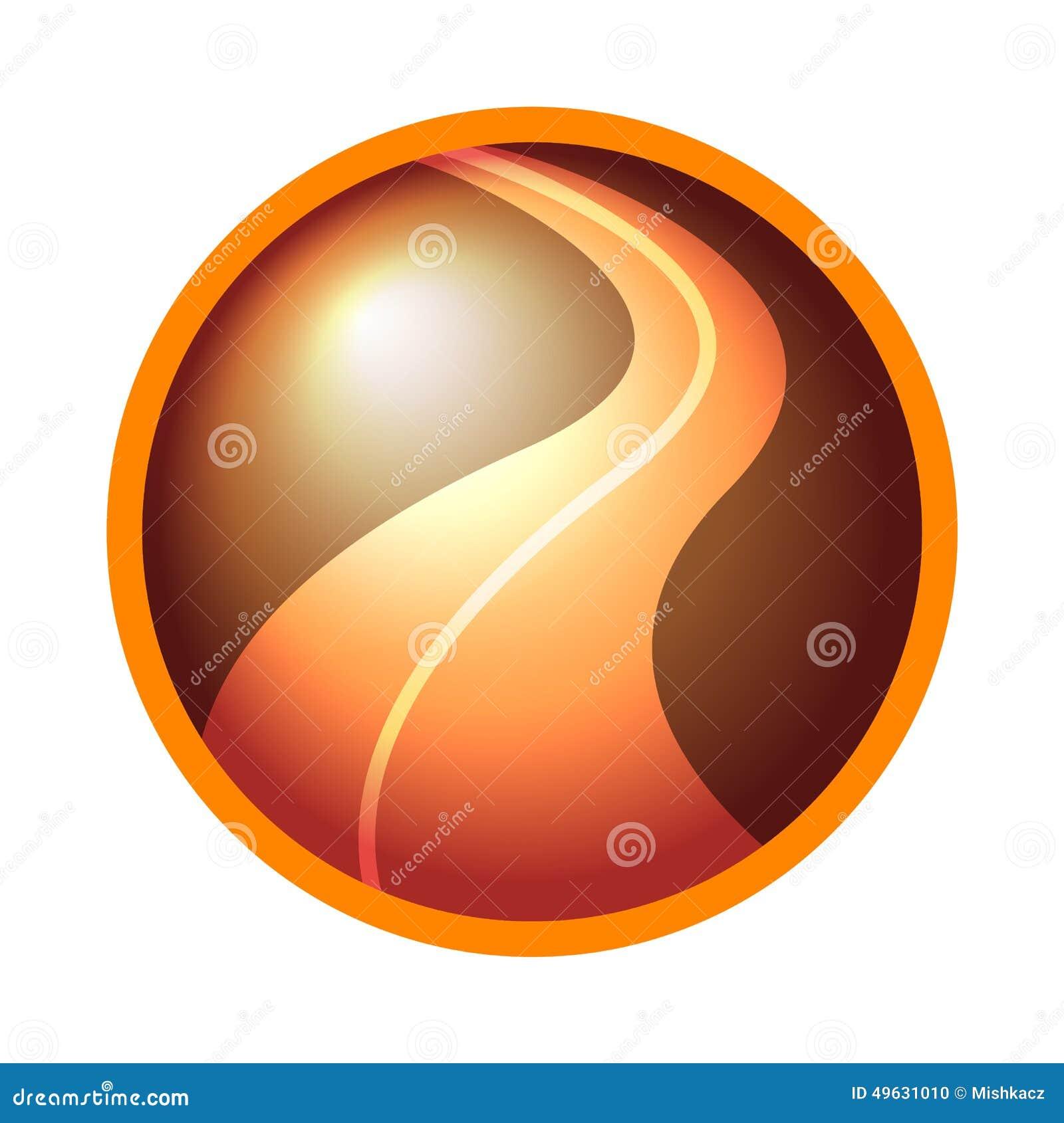 Road Logo Icon Stock Illustration - Image: 49631010