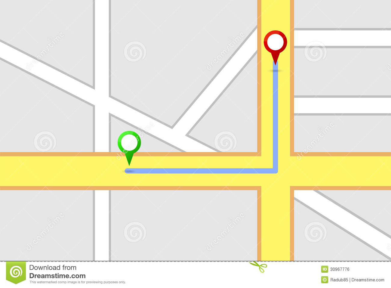 Road Route Map Royalty Free Image Image 31975206 – Road Route Map