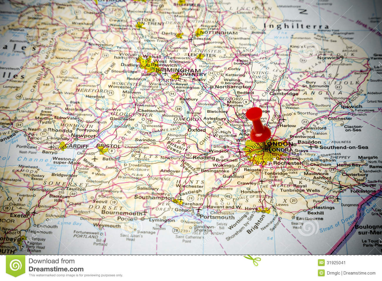 Road map stock image. Image of background, road, european - 31925041