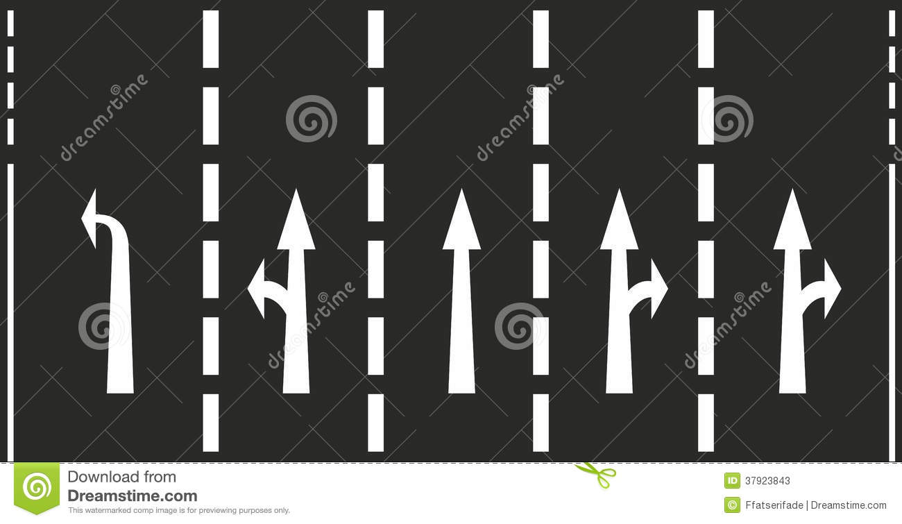 Road Marking Stock Photos Image 37923843