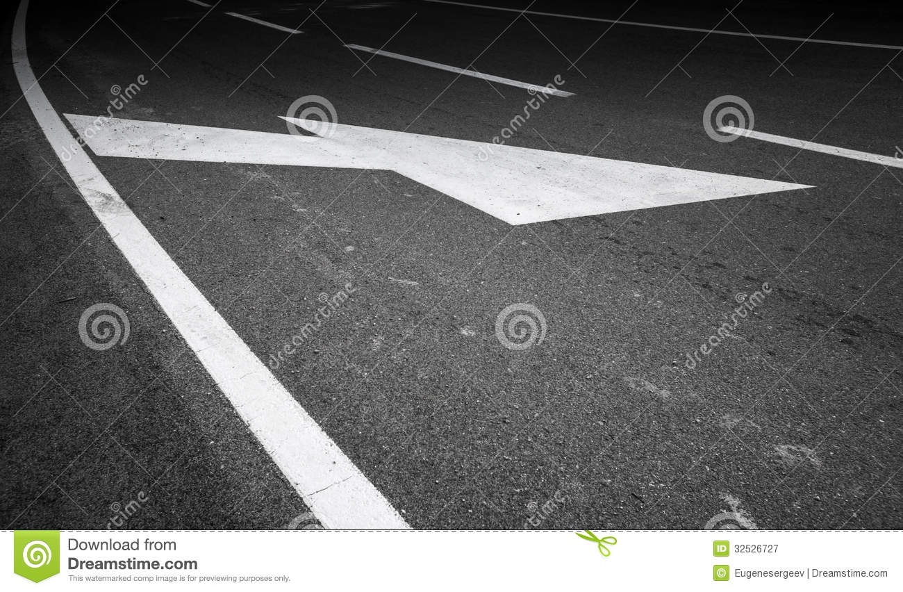 Road Marking Royalty Free Stock Photography - Image: 32526727