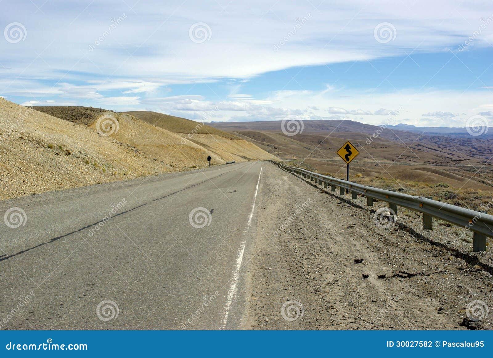 Road In Argentina Stock Photo Image Of Patagonia Symbol 30027582