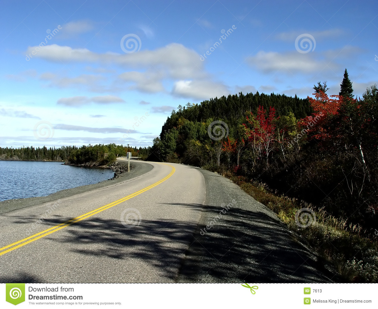 Road by the Shore