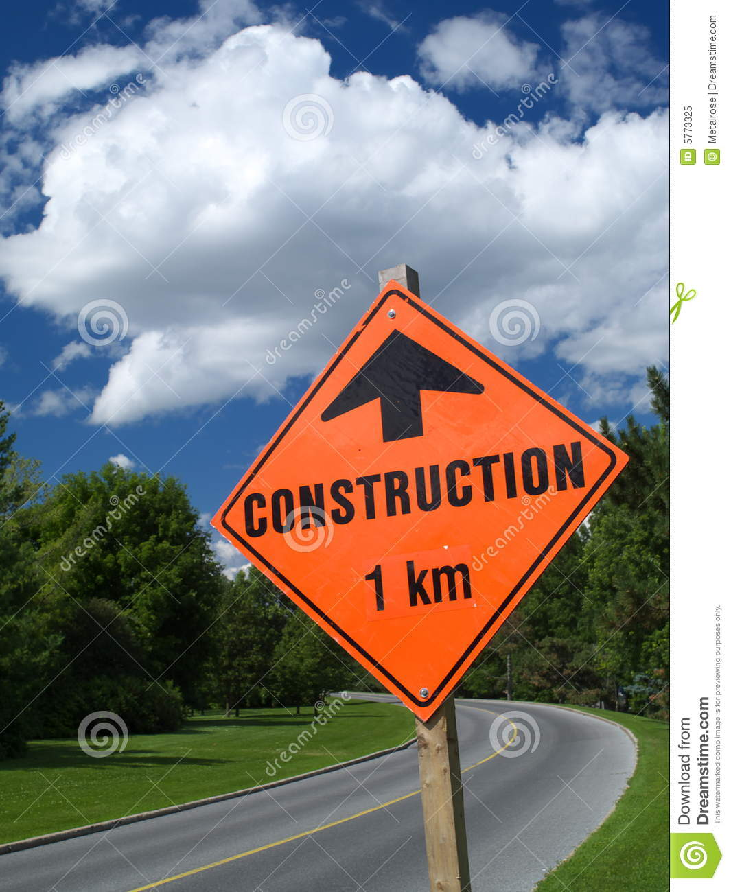Road sign stock image  Image of scene, country, colorful - 5773325