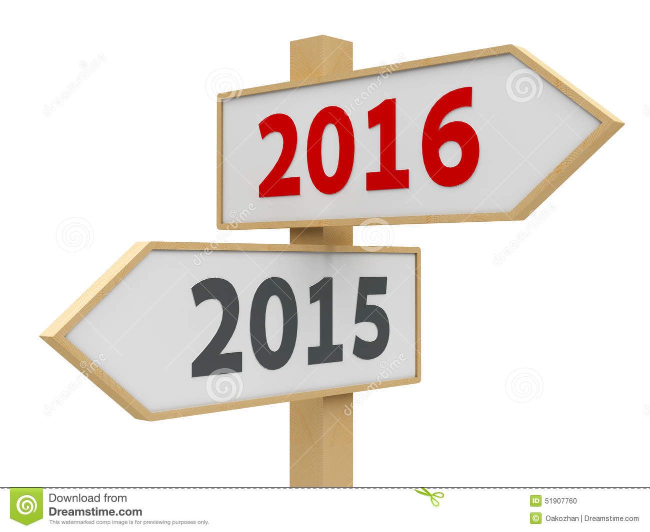 Road sign with 2015-2016 change on white background represents the new ...