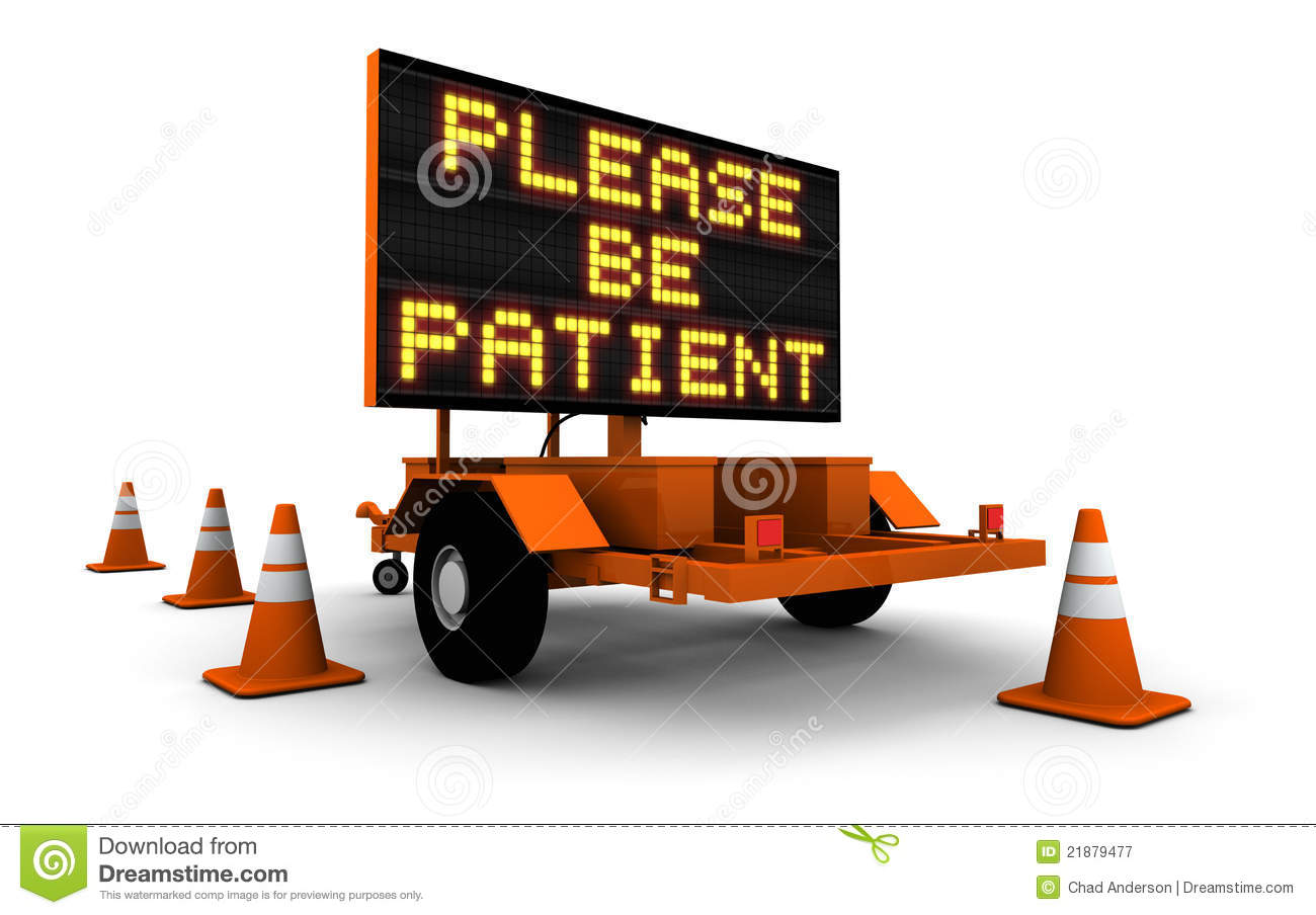 Royalty free stock photography road sign with cones