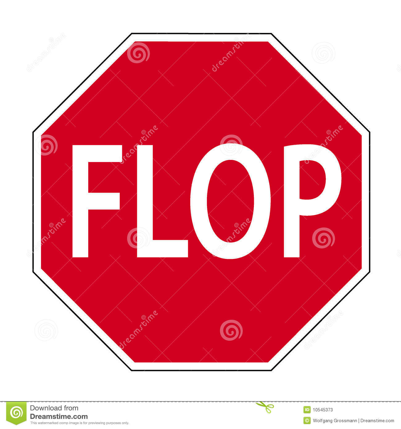 Road Sign Flop Stock Photos - Image: 10545373