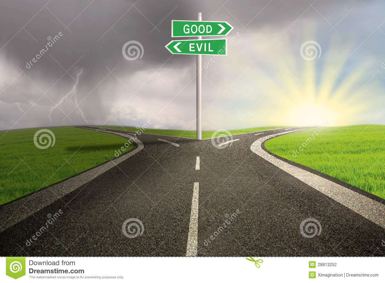 the road good vs evil Analysis of good vs evil in literature english literature essay  in the end, hamlet takes the road of evil and seeks revenge, killing several people this quote.