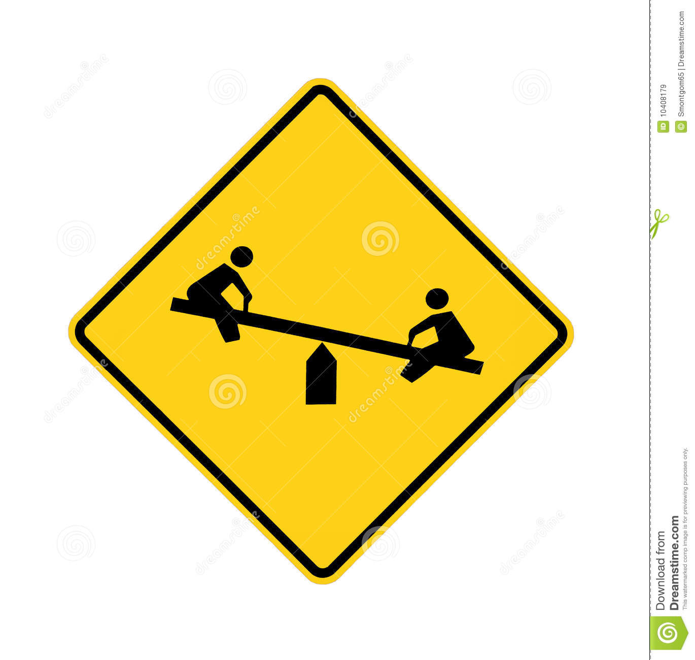 Road Sign - Playground Royalty Free Stock Images - Image ...