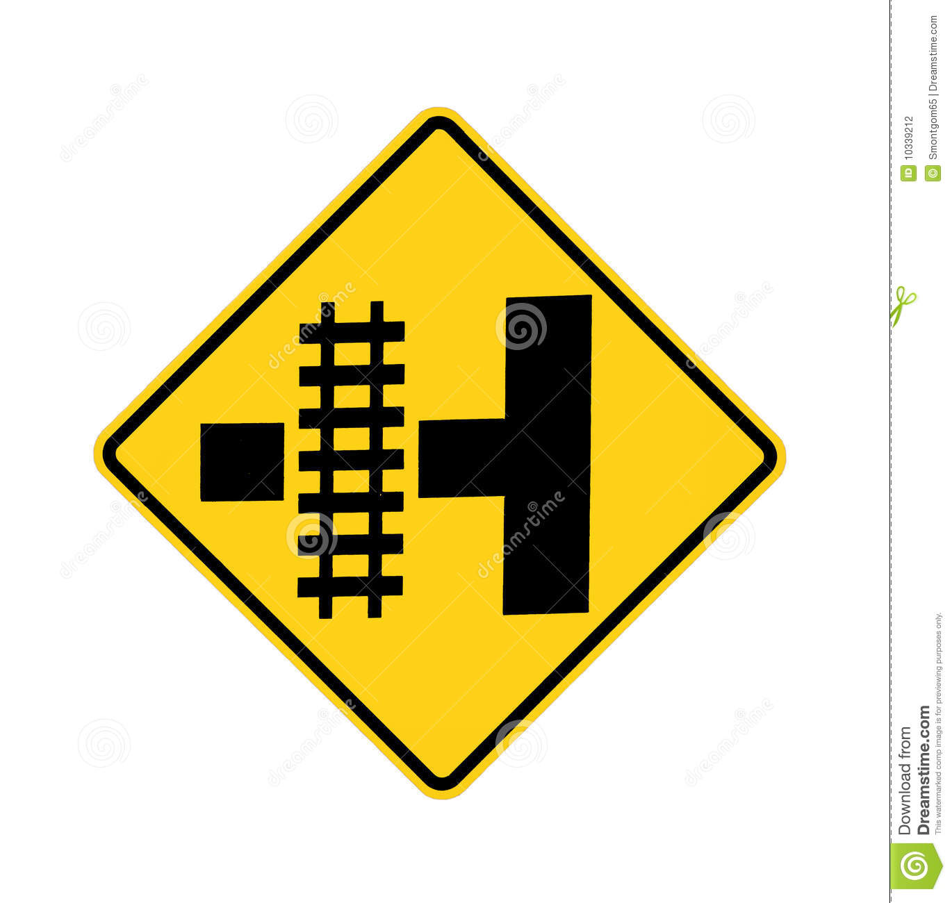 picture regarding Railroad Crossing Sign Printable identify Street Signal - Railroad Crossing Inventory Picture - Graphic of hazard