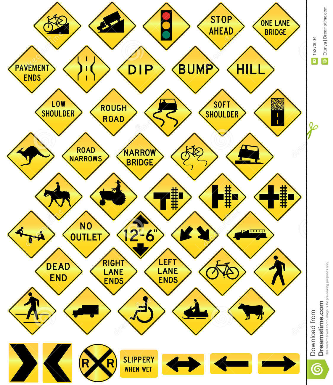 road sign set warning stock images image 15373004 free snowmobile clipart snowmobile clip art pictures