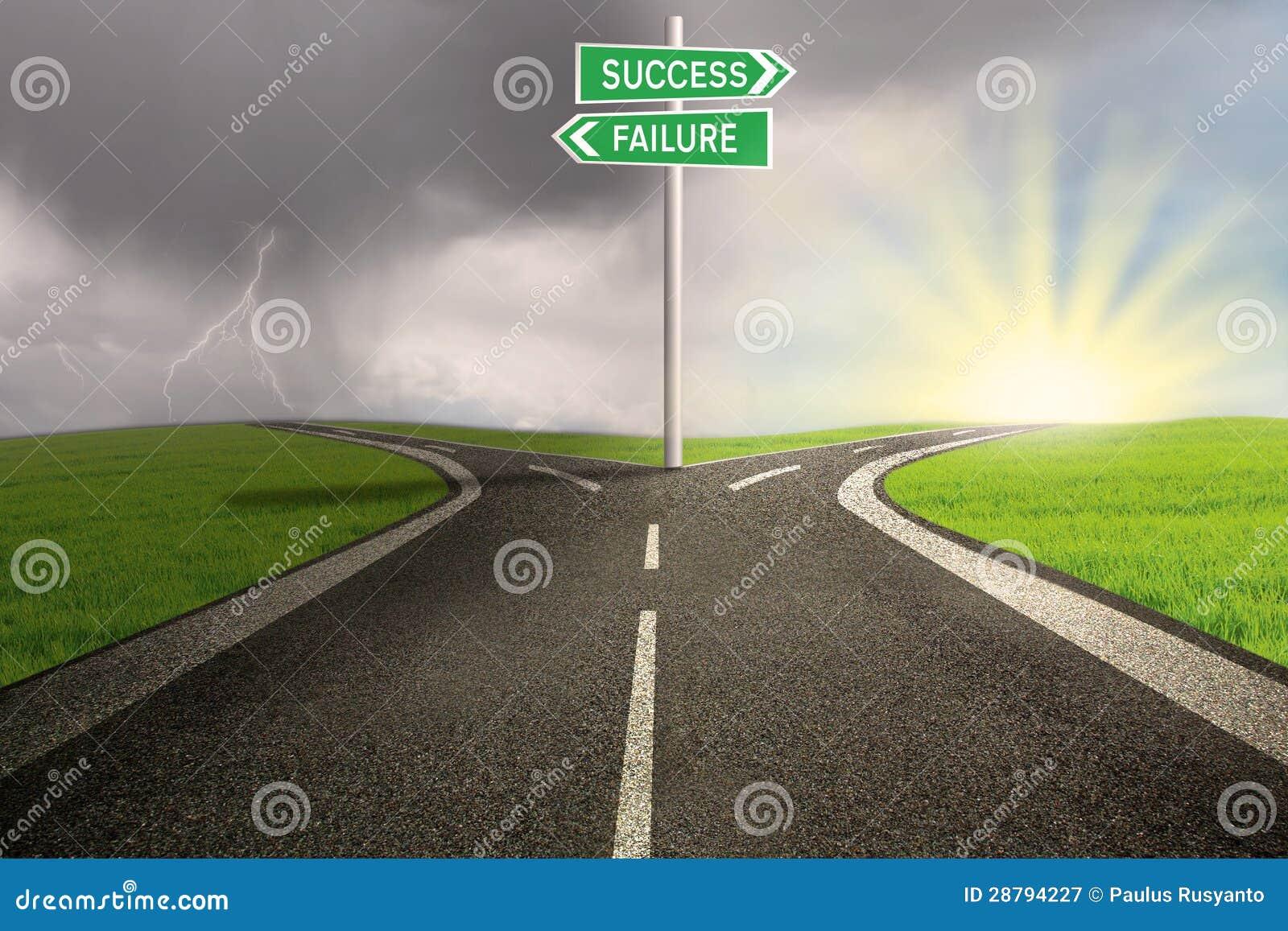 Failure road to success