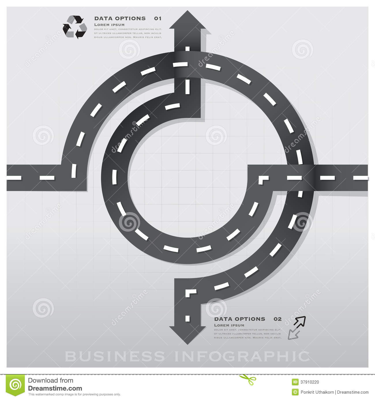Road and street traffic sign business infographic design - Traffic planning and design layoffs ...