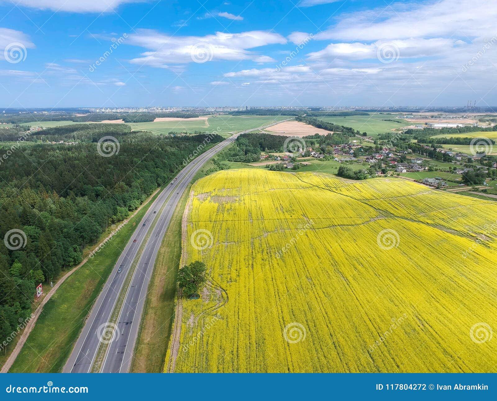 The road to Minsk, Belarus