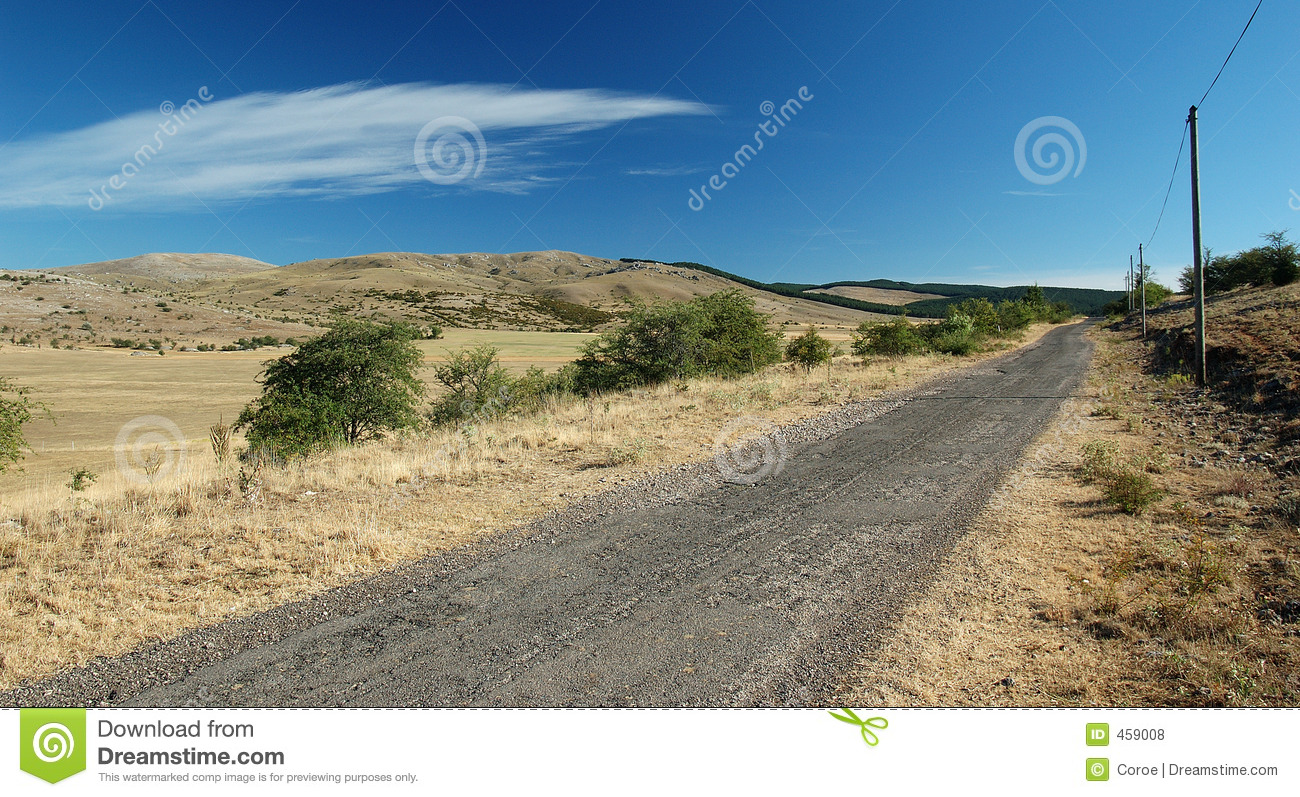 Download Road to nowhere stock photo. Image of summer, causse, street - 459008