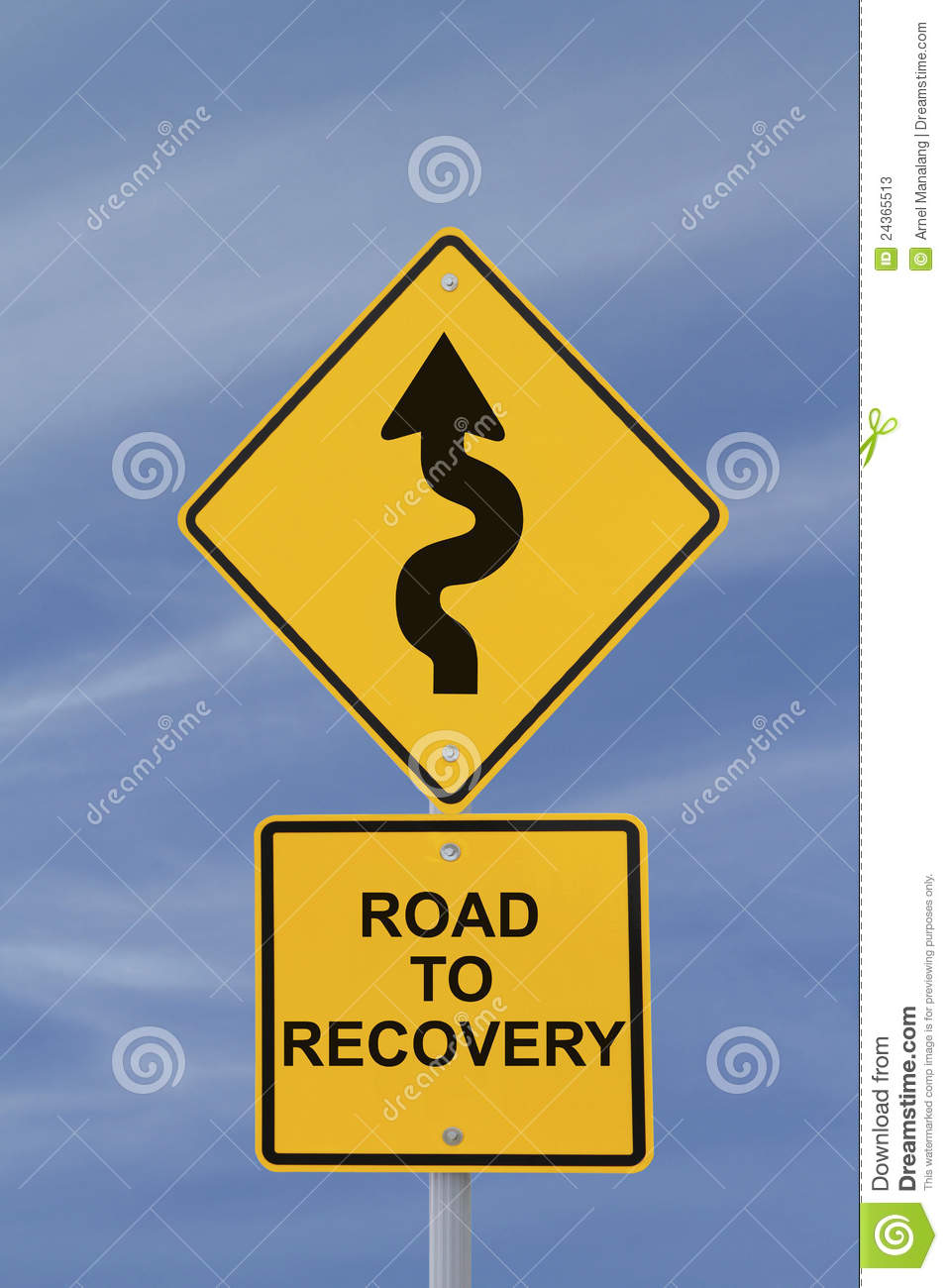 Road To Recovery Stock Photos - Image: 24365513