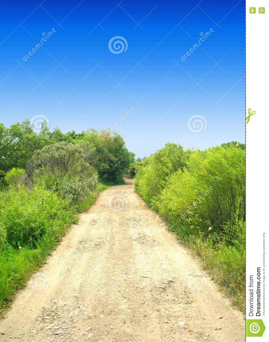 Stock Images Road To Sky Picture Image 2619824