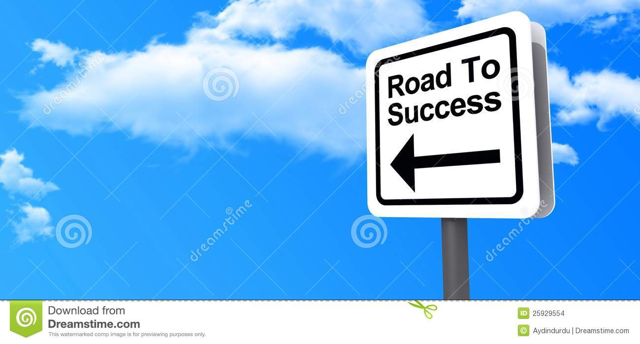 Follow Your Dreams Clipart Road To Success Highwa...