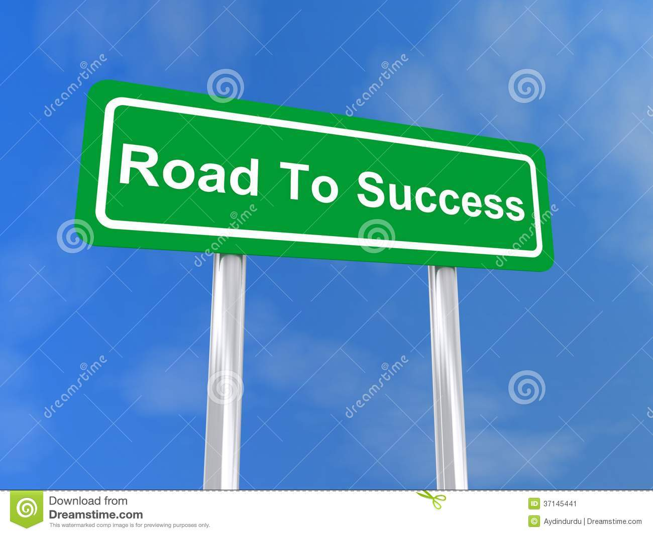 The Road To Success Royalty-Free Stock Photo ...
