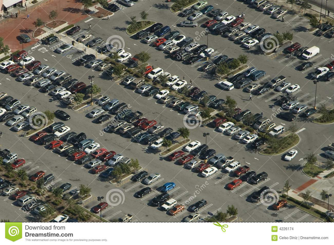 Parked Cars Overhead