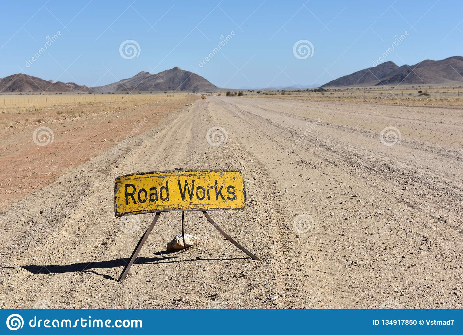 Road Works in Africa, Namibia